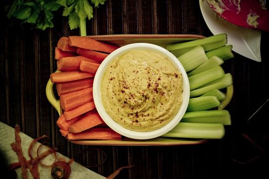 Cheezy Hummus Recipe — Dishmaps