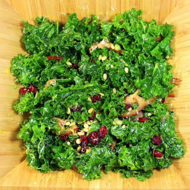 Inspired By eRecipeCards: Massaged Kale Salad