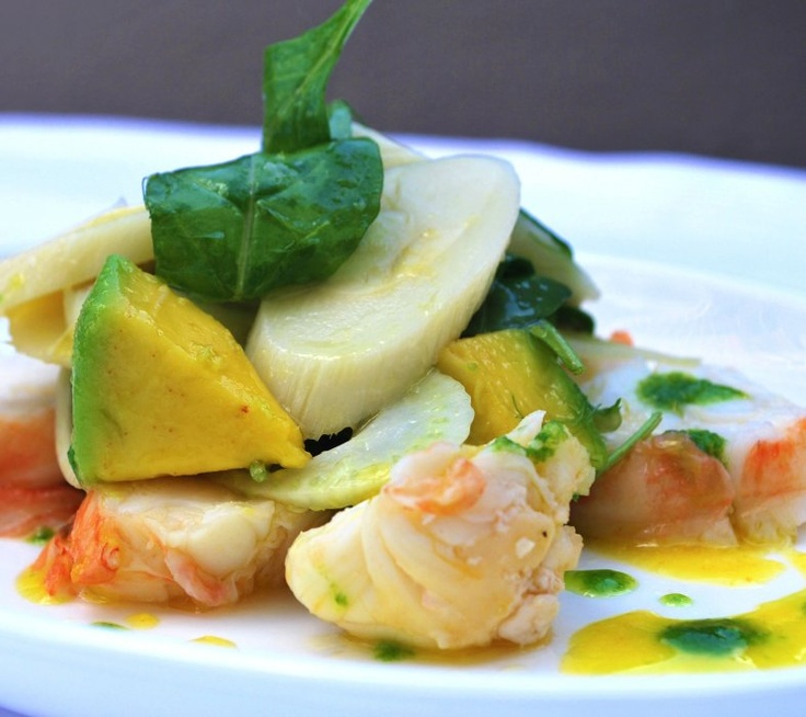 Avocado Lobster | Fish or seafood overboard | Pinterest