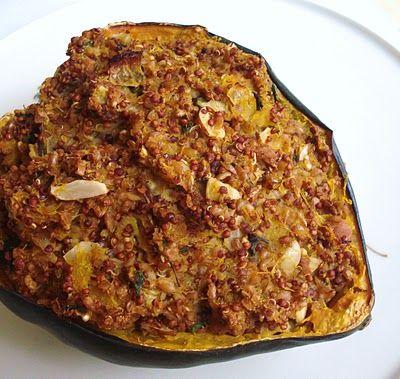 Stuffed acorn squash: I'm desperate for Magnolia Cafe's acorn squash ...