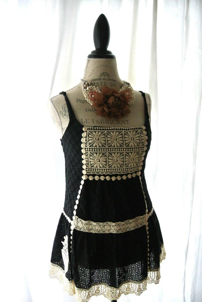 rustic, womens clothing, bohemian girl, gypsy rose. $48.00, via Etsy