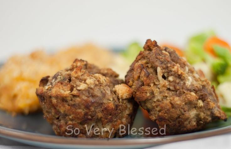Mini Meatloaves | Dinner | Pinterest