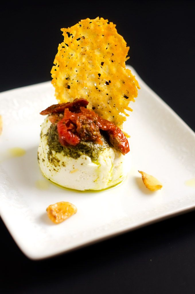 Parmesan Crisps ~ Love these things. They are addictive.