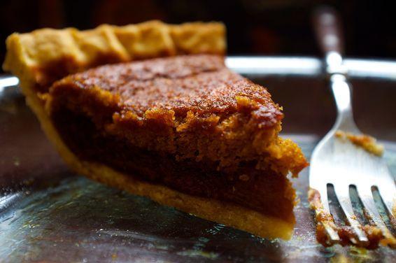 Gluten-Free Shoofly Pantry Pie on Food52