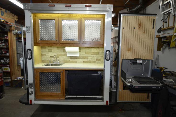 Cargo Trailer Camper Conversion Ideas Autos Post