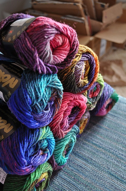 Noro yarn I love the colors but I hear its really scratchy...i should ...