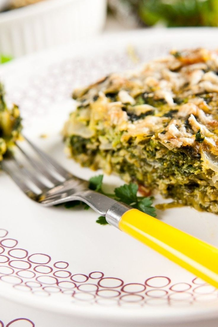 Easy Spinach Souffle - To make low carb use 1/3 cup cream or half and ...