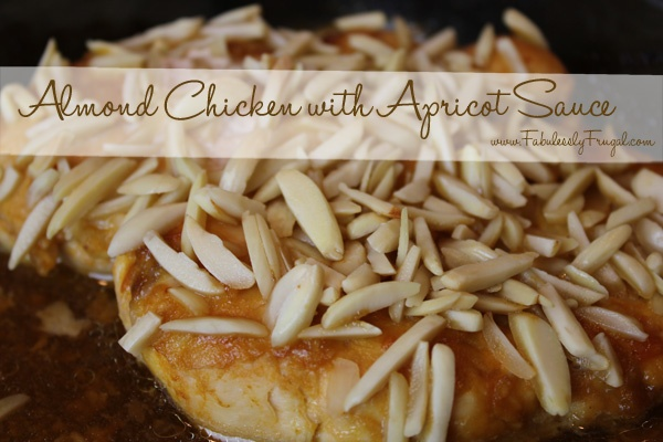 More like this: almond chicken , apricots and almond .