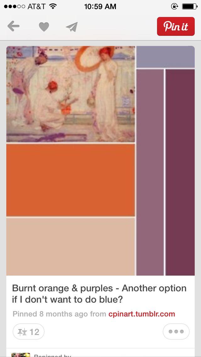 Burnt orange color scheme paint pinterest - Burnt orange color scheme ...