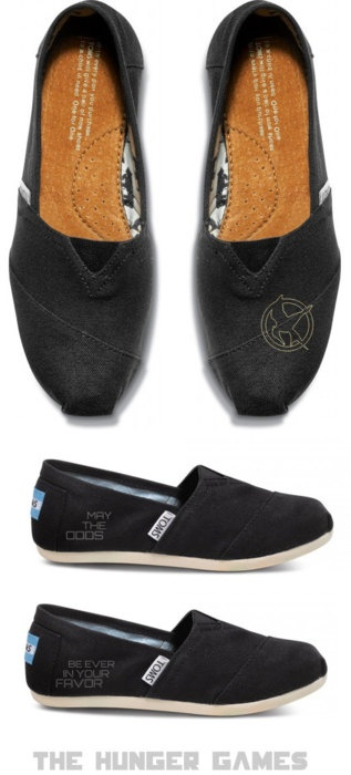 Hunger Games' Toms. I want them. So much.