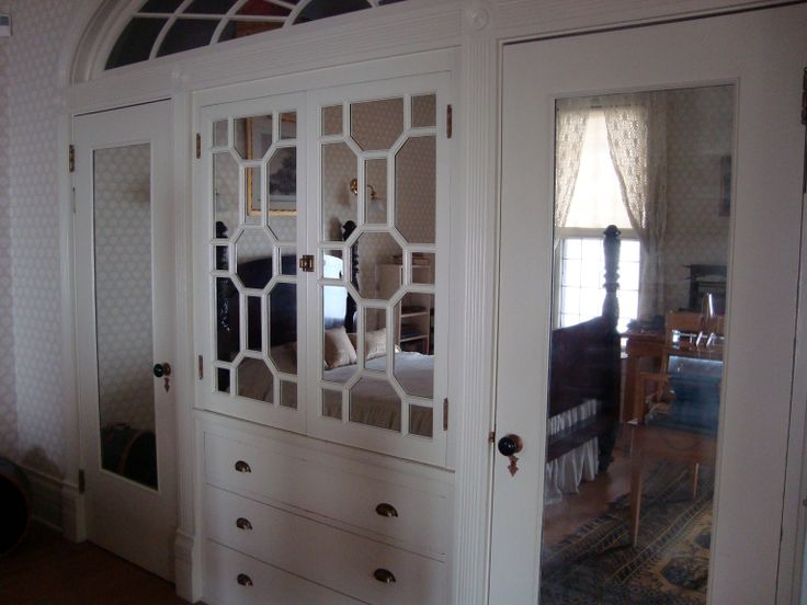 antique fancy bedroom closet early american furniture