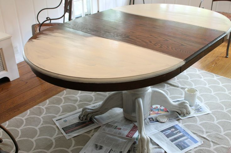 The Picket Fence Projects Dining Table Furniture Redos