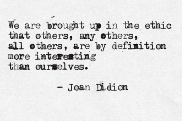 What would be a good topic for a research paper about Joan Didion?