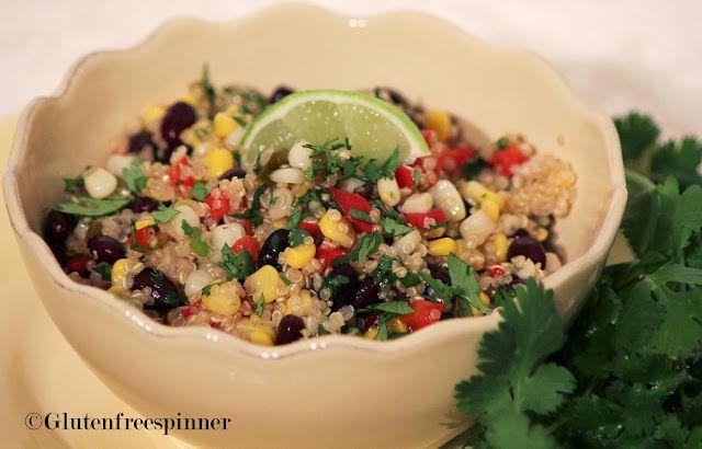 Quinoa Southwest Salad | Salads and Fiesta Rice | Pinterest