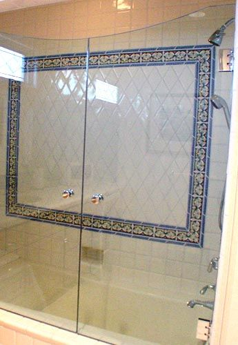 Shower tub combo with glass doors 2013 bathroom remodel Shower tub combo with window