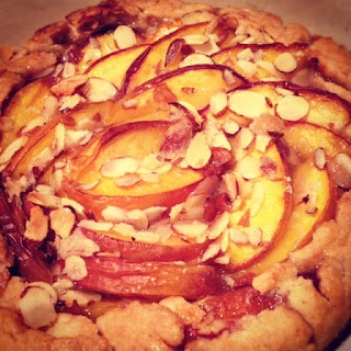 Nectarine Galette - delicious and fresh | Food & Drink | Pinterest