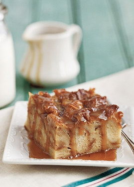 Caramel Croissant Bread Pudding at http://www.normthompson.com