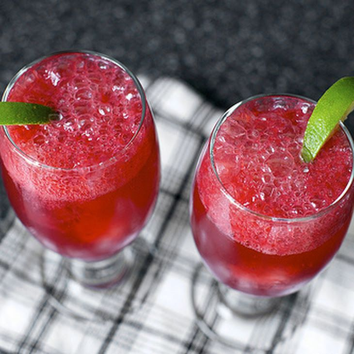 Blackberry Gin Fizz II Recipe - use swerve or stevia instead of sugar