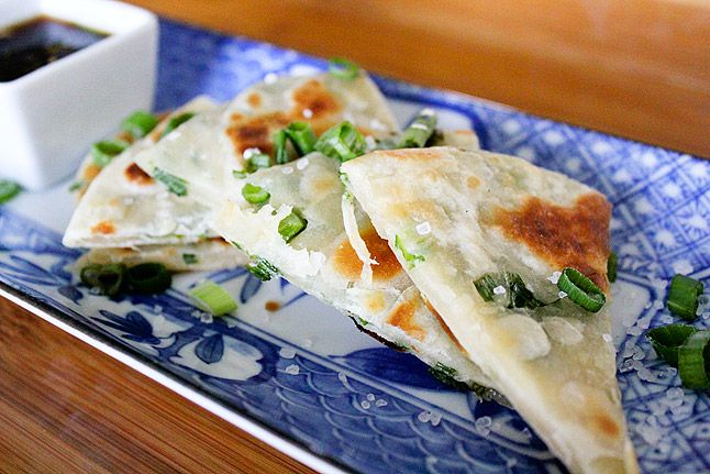 ... pancakes - from Imperial Palace - Scallion Pancakes - Going to try
