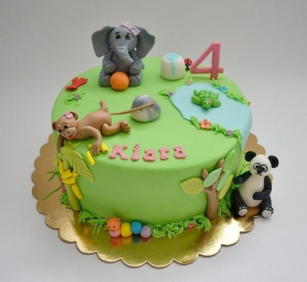 Zoo cake Party Ideas Pinterest