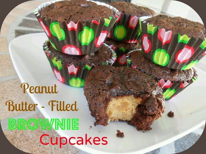 Peanut Butter Filled Chocolate Cupcakes | Food, Wonderful Food!! | Pi ...