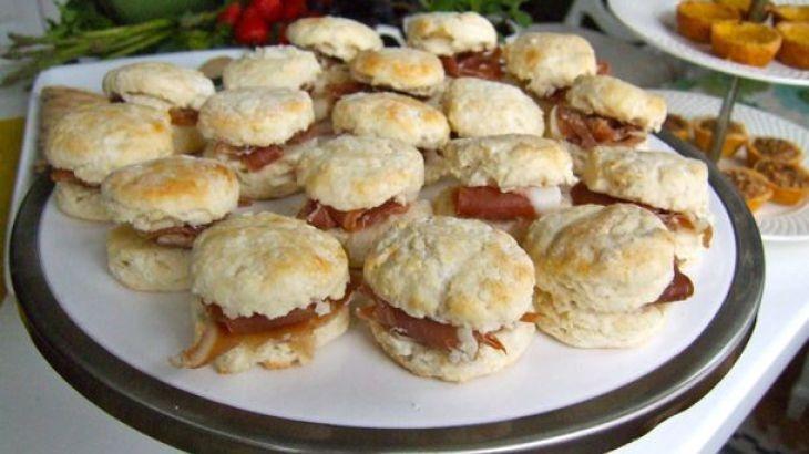 Country Ham Biscuits | Nom Noms | Pinterest