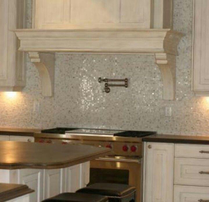 Beautiful sparkling backsplash for the home pinterest - Beautiful kitchen backsplashes ...
