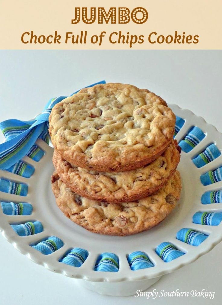 Jumbo Chock Full of Chips Cookies satisfy any sweet tooth craving ...
