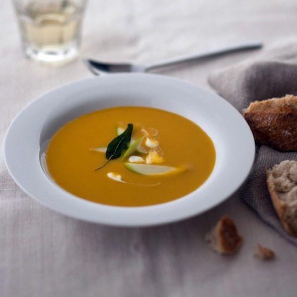 Butternut Squash and Apple Soup | Koki's favs | Pinterest