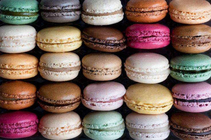 Paris Macarons Photo - French patisserie, Colorful Home Decor, Wall ...