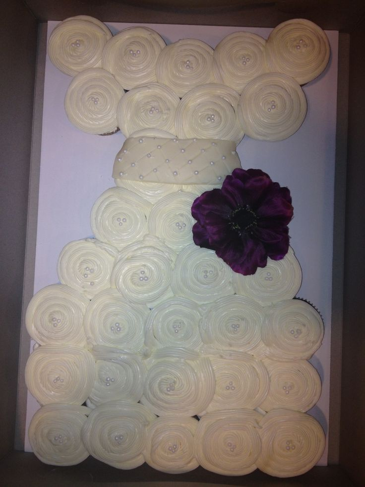 cupcake cake bridal shower