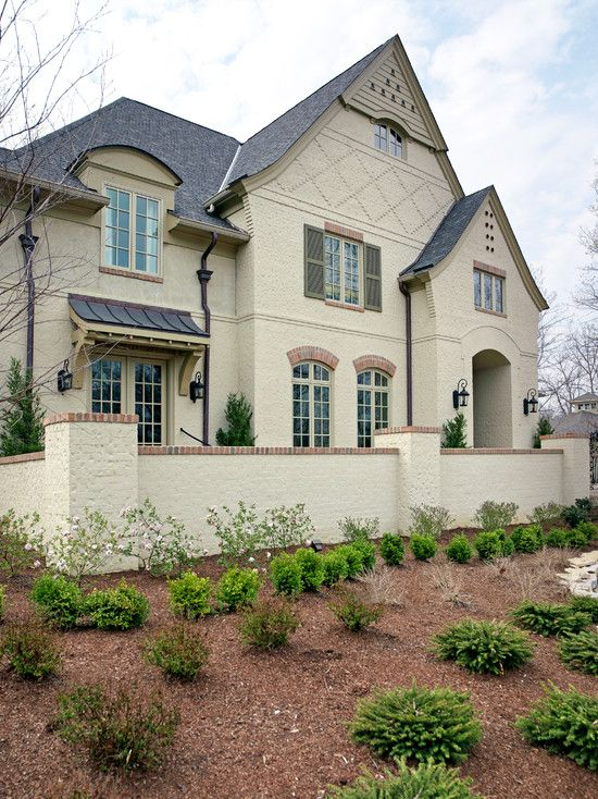 Painted Brick Home For Me Pinterest