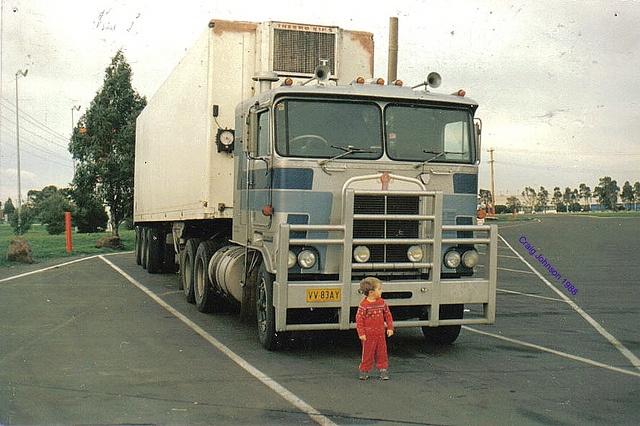 Small Boy Big Truck