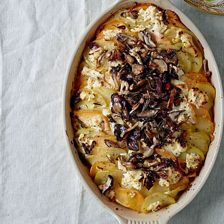 ... Gratin - uses sheep cheese (or goat), potatoes, rutabegas, rosemary