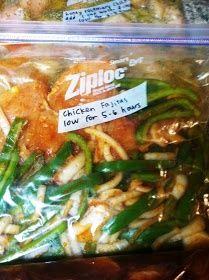Freezer to Crockpot Meals for Chicken: Cilantro Lime - Chicken ...