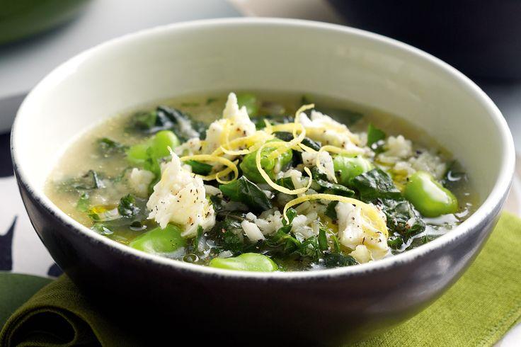 broad bean & silver beat soup | soup | Pinterest