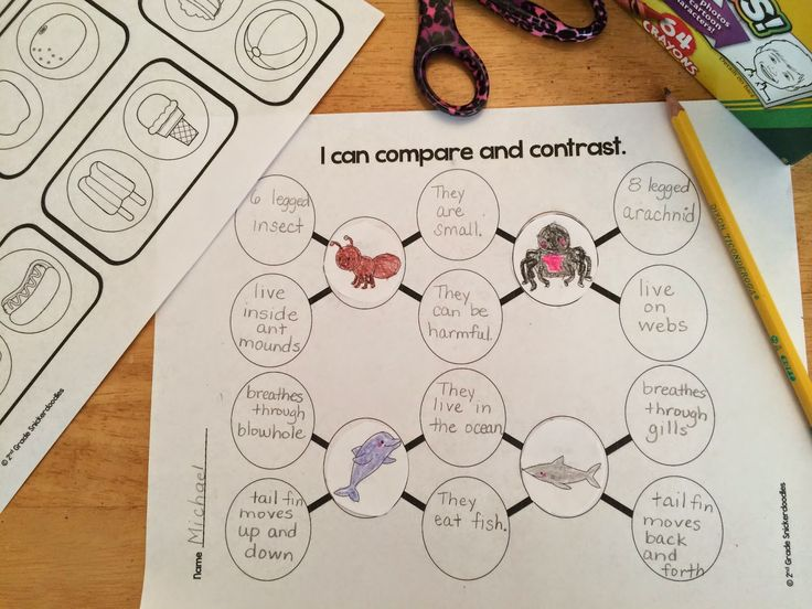 Compare and Contrast Story Elements 2 Plot Setting ampamp