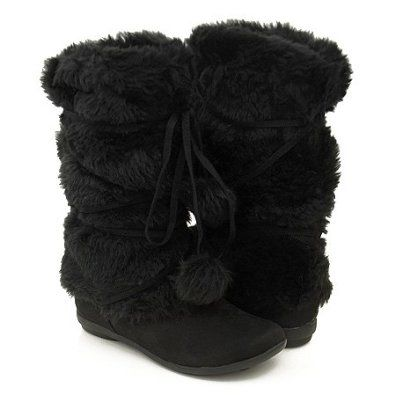 warm and fuzzy winter boots so shoes