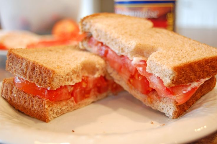 Tomato Sandwich (the south's favorite summer sandwich) - Eat at Home