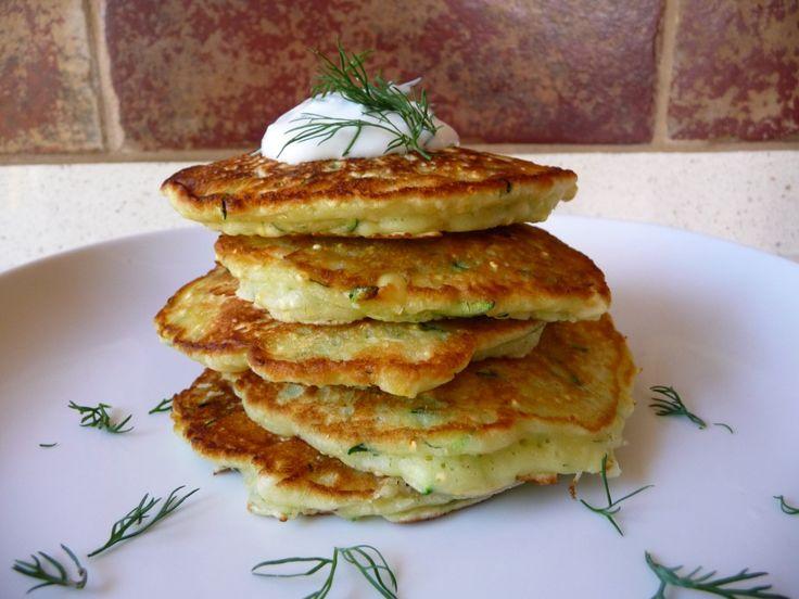 zucchini saute zucchini pancakes zucchini pancakes julienned zucchini ...