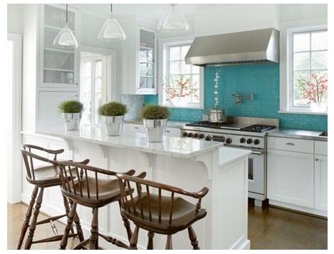 turquoise tile backsplash turquoise pinterest