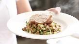 Broiled Pork Tenderloin with Black-Eyed Peas
