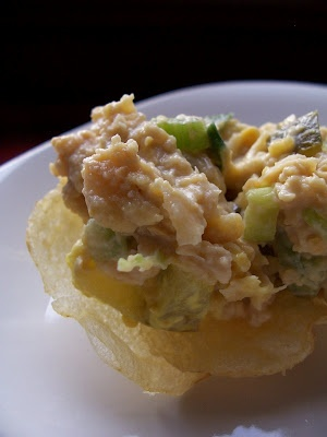 mock tuna salad | I Want to Eat | Pinterest