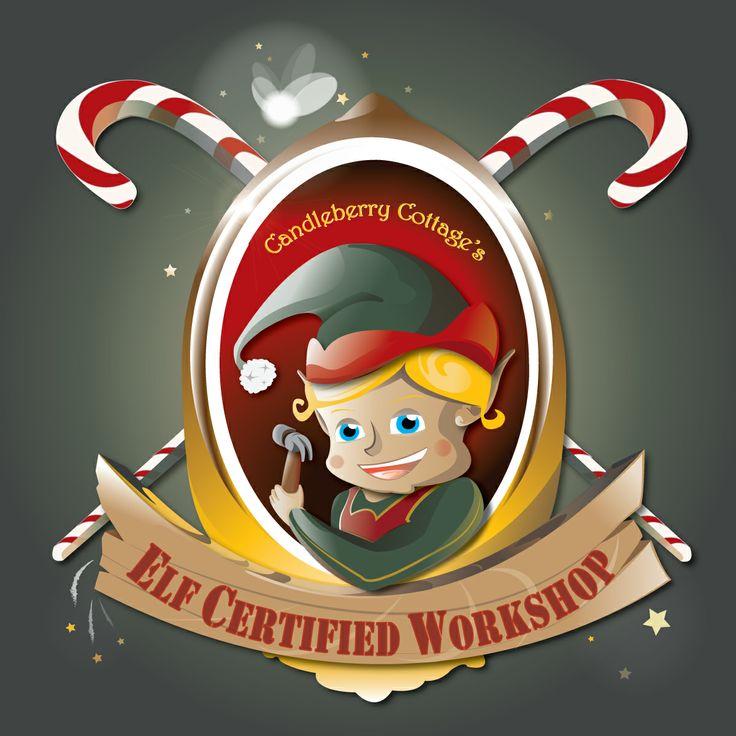Elf Certified Workshop Logo | Elf Workshop Ideas | Pinterest
