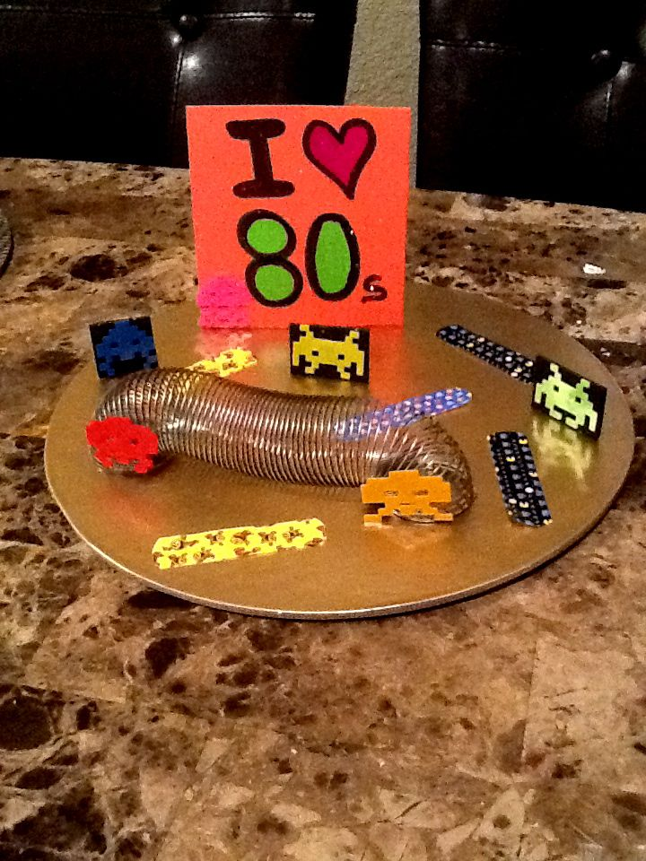 80s centerpiece 80 39 s party ideas pinterest for 80s decoration ideas
