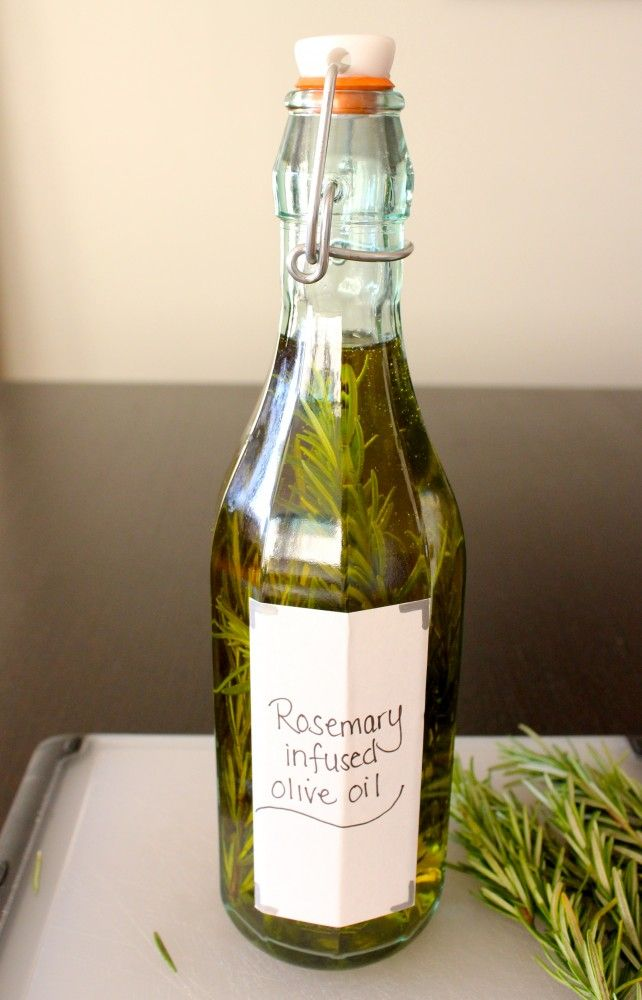Rosemary Infused Olive Oil | Christmas | Pinterest