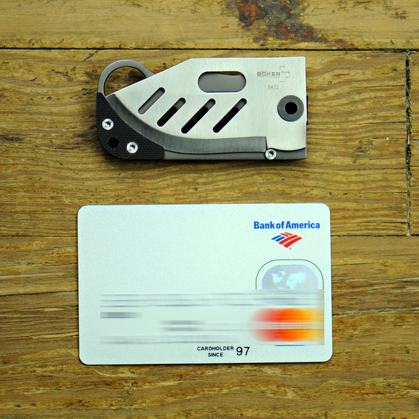 credit card knife how to use