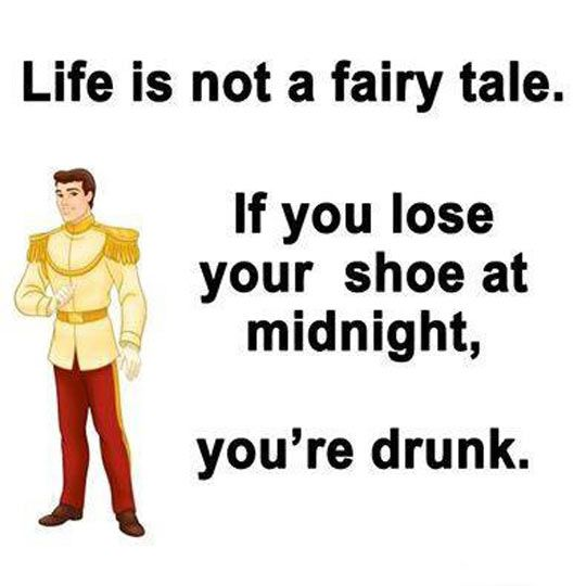 If You Lose Your Shoe At Midnight