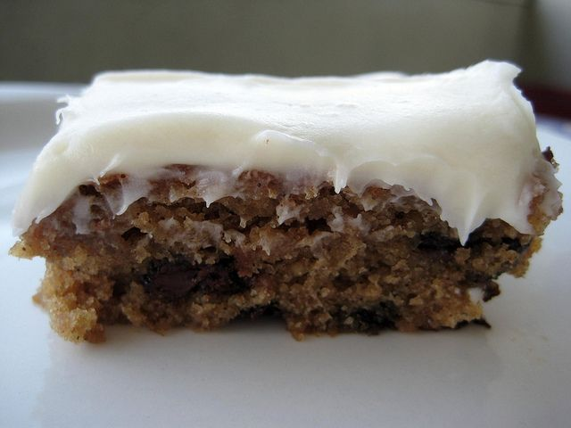 Oatmeal Chocolate Chip Cake by NoshWithMe, via Flickr; This looks ...