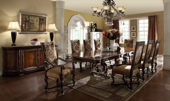Nice Dining Room Set Up For The Home Pinterest